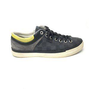 Louis Vuitton Shoes - Louis Vuitton Damier Low-Top Sneakers-Size UK 7.5